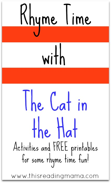 Worksheets The Cat In The Hat Worksheets rhyme time with the cat in hat