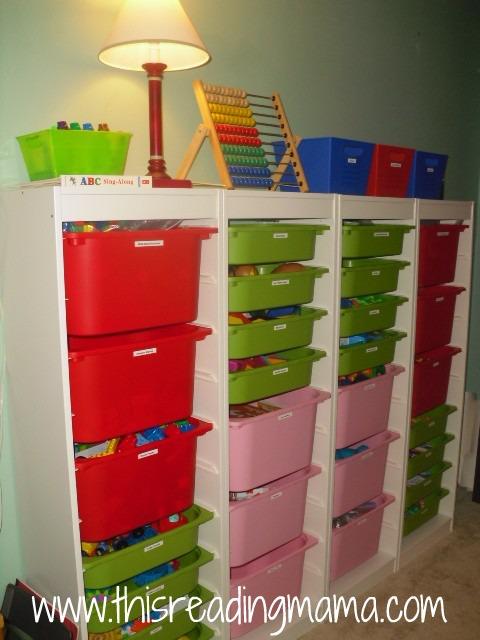 TROFAST storage unit for schoolroom & TROFAST storage unit for schoolroom - This Reading Mama