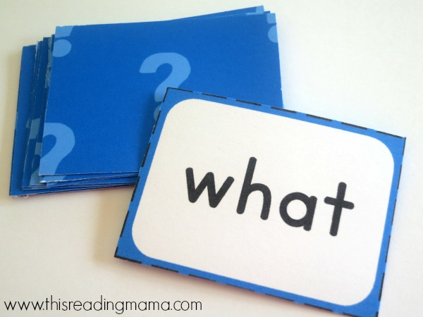 sight word guess who cards