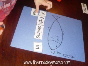 Fish Print Awareness Activity