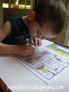 letter T tracing pictures