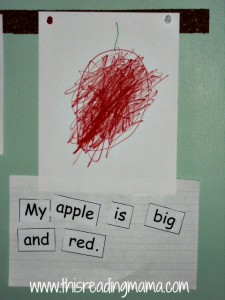 Apple Print Awareness activity
