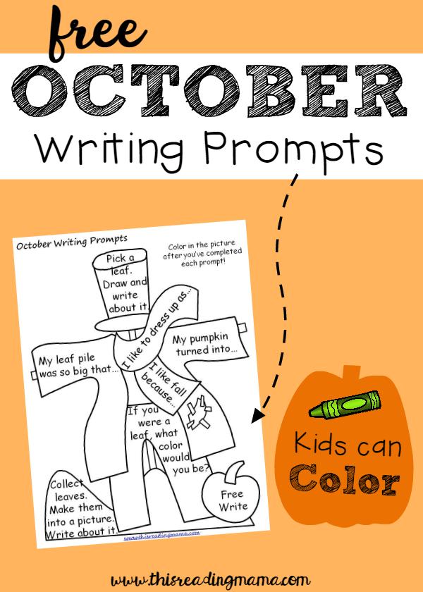creative writing topics for elementary school