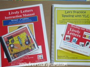 lively letters materials