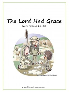 The Lord Had Grace, free Bible phonics reader