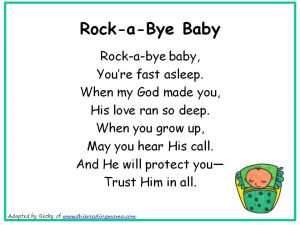 Photo of Rockabye Baby Christian Nursery Rhyme