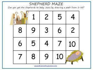 1-10 Shepherd Maze