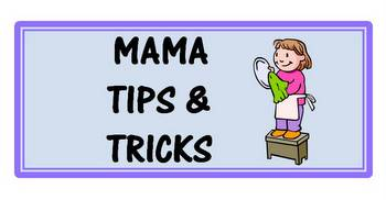photo of  The ABCs of Mama Tips & Tricks