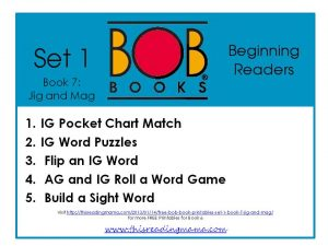 photo of FREE BOB Book Printables for Set 1-Book 7 {This Reading Mama}
