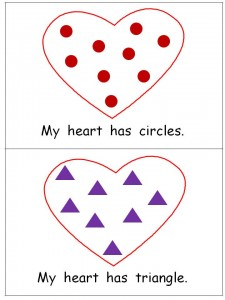 "Free Valentines Emergent Reader- ""My Heart"""