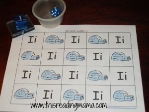 Numbers 1-20 Grid with Igloo