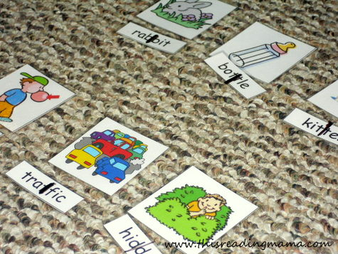 Chunk that Word! Reading Decoding Game - Spell Out Loud