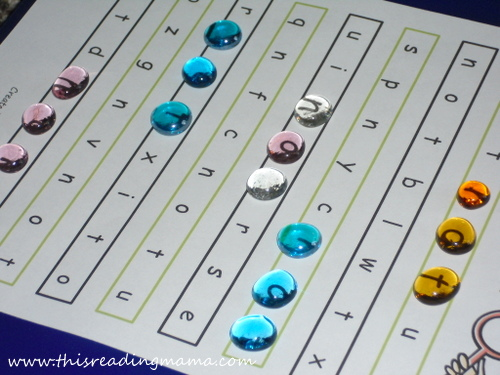 photo of Sight Word Search with Jewels {This Reading Mama}