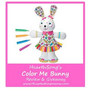 photo of HearthSong's Color Me Bunny {Review and Giveaway} | This Reading Mama