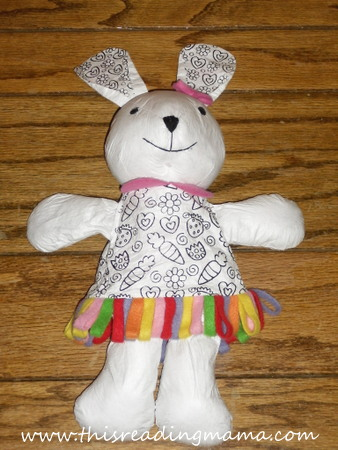 HearthSong Color Me Bunny {Review and Giveaway} | This Reading Mama
