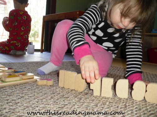 photo of Melissa and Doug ABC Chunky Puzzle Play