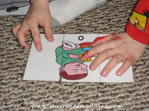 photo of FREE OT Word Family Puzzles {This Reading Mama}