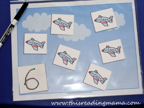 photo of Count and Trace Numbers 1-20 with Letter J | This Reading Mama