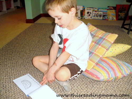 photo of Reading the Alphabet: Letter W Emergent Reader | This Reading Mama