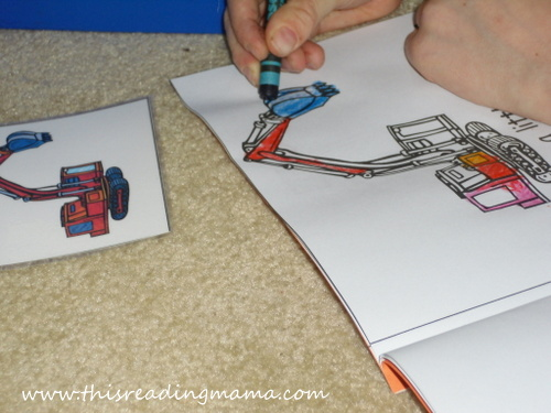 photo of Coloring Letter E Emergent Reader | This Reading Mama