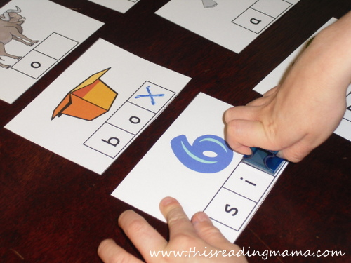 photo of Stamp the X-phonemic awareness for letter X | This Reading Mama
