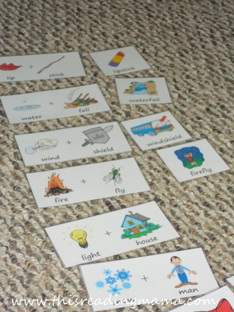 Compound Word Matching Game | This Reading Mama