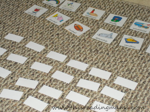 Mix and Match Compound Word Game | This Reading Mama