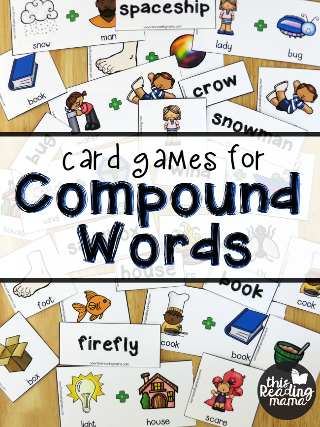 FREE Compound Words Pack