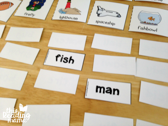 making and reading silly compound words