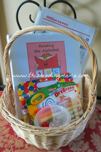 Reading the Alphabet Giveaway | This Reading Mama