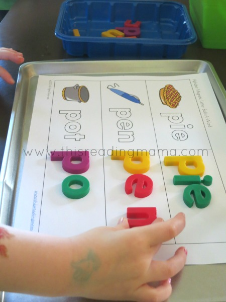 Hands-On Spelling Tools (from Teaching Kids to Spell)