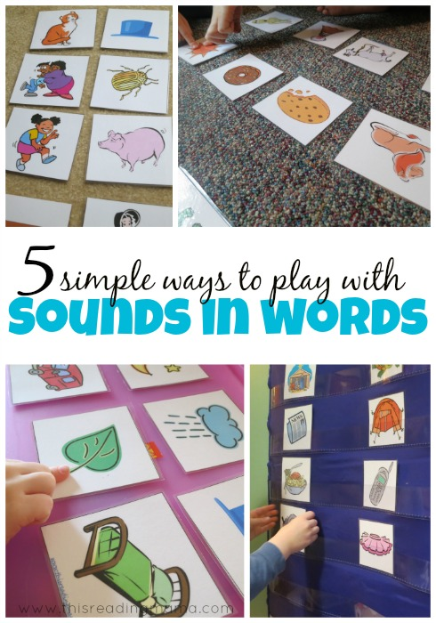 5 Simple Ways to Play with Sounds in Words {guest post This Reading Mama}