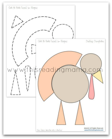 Turkey Head Cut Out Turkey Cut Out Patterns