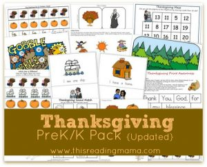 Thanksgiving PreK Pack-Update