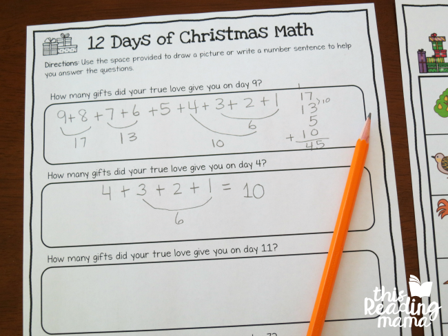 12 Days Of Christmas Maths Questions To Answer Raupnc Newyearclubs2020 Info
