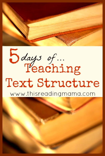 5 days of Teaching Fiction and Non-Fiction Text Structure | This Reading Mama