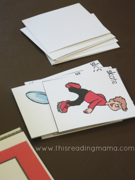picture cards for beginning blend bingo | This Reading Mama