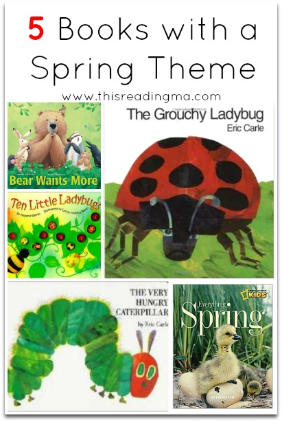 5 Books with a Spring Theme | This Reading Mama
