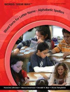 Word Sorts for Letter Name-Alphabetic Spellers