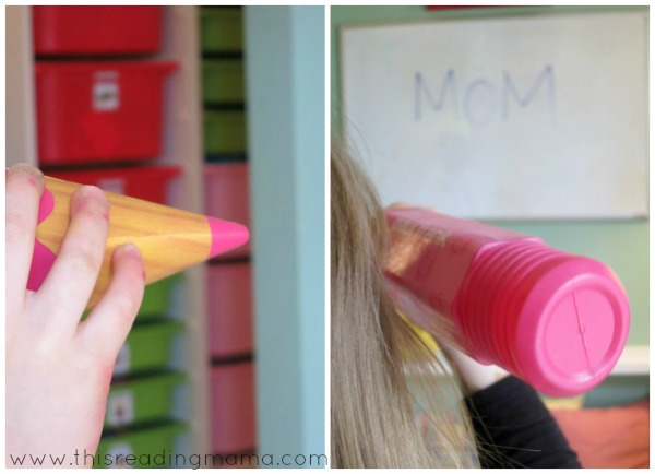 tracing letters in the air, perfect for preschoolers