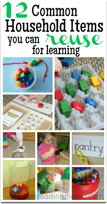 Free learning materials 12 common items you can re purpose and re use - New uses common items ...