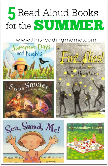 5 Summer Read Aloud Books