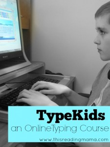 TypeKids - an Online Typing Course {Review}