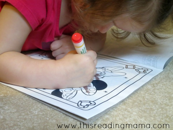 no mess coloring toys such as ColorWonder - great for toddlers