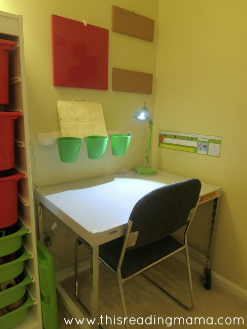 school desk for the older three kids