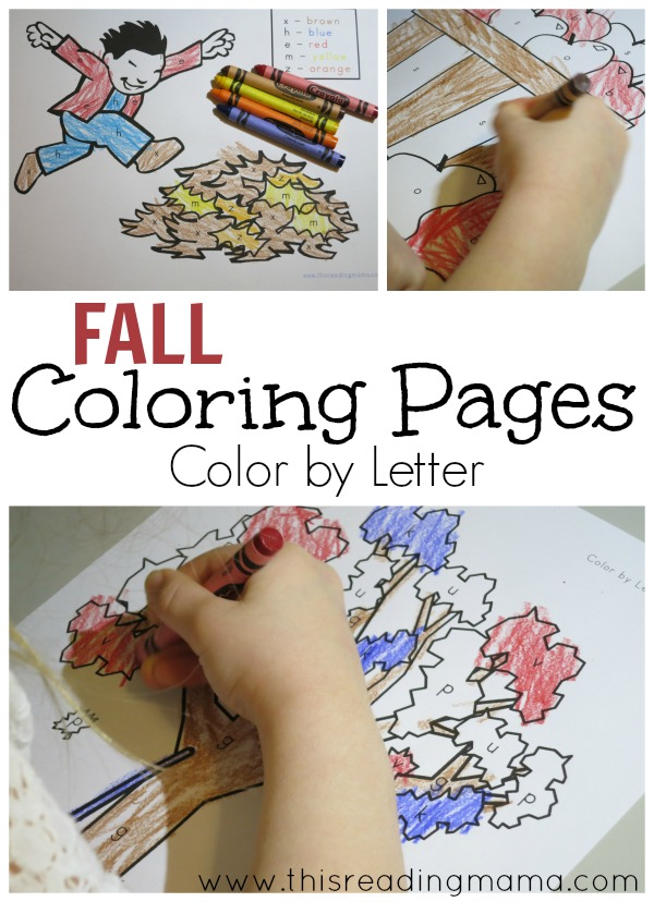 Fall Coloring Pages- free - This Reading Mama