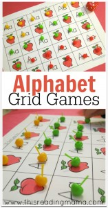 Alphabet Grid Games {FREE} - This Reading Mama