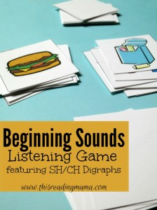Beginning Sounds Listening Game {Free}
