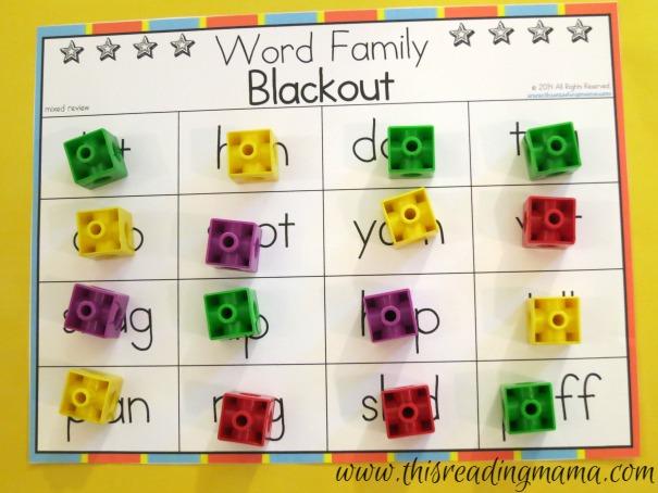 winner of word family blackout
