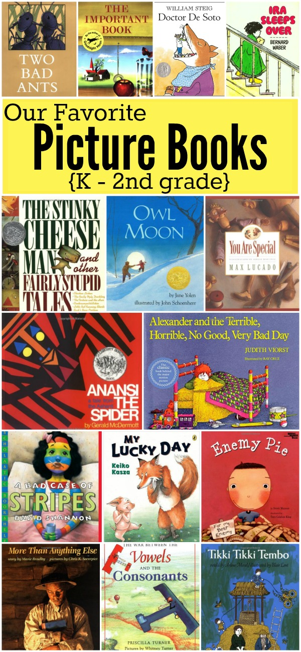 Favorite Picture Books For K 2nd Grade